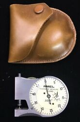 VINTAGE AMES CO. THICKNESS MEASURE 70-043 w CASE - B. C. AMES CO. WALTHAM MASS