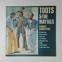 TOOTS & THE MAYTALS Funky Kingston DRLS5002 Pelko LP Vinyl & Cover VG++ UK 1976