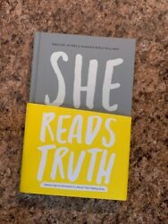 She Reads Truth by Raechel Myers and Amanda Bible Williams (2016 Hardcover)