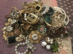 Estate Jewelry Lot-Vintage Gorgeous 65+ Pieces-2+ Pounds Lbs Signed