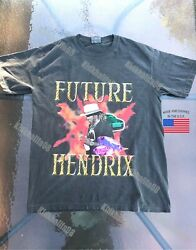 Future hendrix rapper tour supreme rare t shirt 2019 young thug hip hop vintage $31.99
