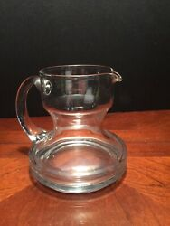 contemporary Crystal Creamer Syrup Pitcher $14.00