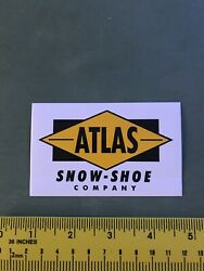 atlas snowshoes Sticker decal $5.25