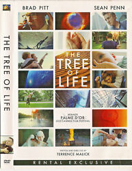 The Tree of Life (DVD2011) Brad PittSean PennJessica Chastain; Terence Malick