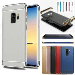 Ultrathin Electroplate 3 IN 1 Case Cover for Samsung Galaxy S9 S8 PLUS S7 Edge