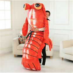 Hot 78'' Giant Hung Huge Lobster Anime Mantis Shrimp Stuffed Soft Plush Doll Toy