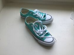 Converse All Star Boys Blue Shoes Youth Size 3 $24.55
