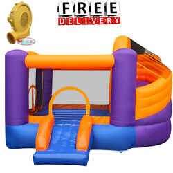 Inflatable Bounce House Slide Bouncer Blower Yard Outdoor Kid Child Playground