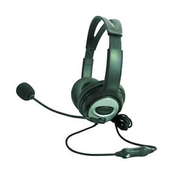 Hi-Fi Stereo Headset with Microphone For PC Desktop Laptop Gaming Music  $18.95