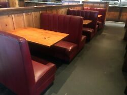 BOOTH SEATING FOR 24 PEOPLE W TABLES BOOTHS STEAK HOUSE MEXICAN RESTAURANT