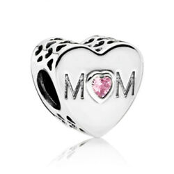 Beautiful Authentic Pandora MOM Charm 100% S925 Sterling Silver Mother's Day
