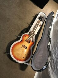 Gibson Les Paul Traditionalstandardclassic Peace Flame Top W Hard case