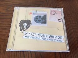 Mr. Lif Sleepyheads Unreleased and Hard to Find CD Definitive Jux Perceptionists