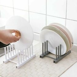 Kitchen Dish Bowl Plate Drying Utensils Rack Organizer Drainer Holder Storage $3.99
