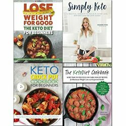 SIMPLY KETO CROCK POT COOKBOOK AND KETO DIET FOR BEGINNERS 4 By Martina NEW