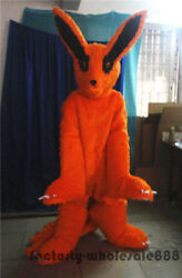 Nine-tailed Fox  Mascot Parade Costume Suit Animal Party Dress Adult Outfit 2018