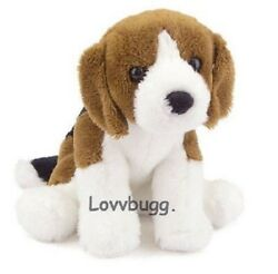 Beagle Puppy Dog Pet for American Girl 18quot; Doll Molly Ruthie LOVV LOVVBUGG 🐞 $12.95
