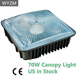 45W 70W LED Canopy Lighting Equival to 250 400W Commercial light for Gas Station