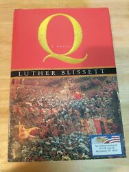 Q by Luther Blissett First Printing (2004 Harcourt) $14.00
