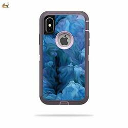 MightySkins Skin Compatible with OtterBox Defender iPhone X or XS Case - Typhoon