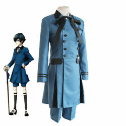 Anime Black Butler Ciel Phantomhive Cosplay Costume Adult Party Uniform Full Set