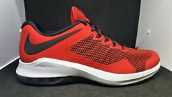 Men#x27;s Nike Max Air Alpha Trainer Red Training Running Shoes AA7060 600