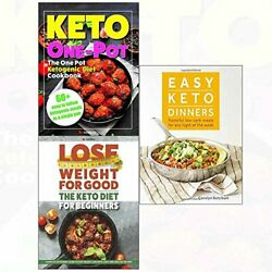EASY KETO DINNERS AND DIET FOR BEGINNERS AND ONE POT KETOGENIC By Carolyn NEW