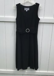Another Thyme Prom Formal Sleeveless Dress Womens Sz 10 Black $11.23