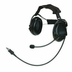 MSA 10079967 Supreme Pro Headset Electronic Ear Muff Neckband Single Communica