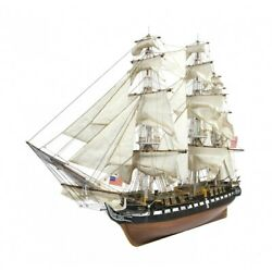 USS Constitution wooden sailing boat ship model build your own PLANS