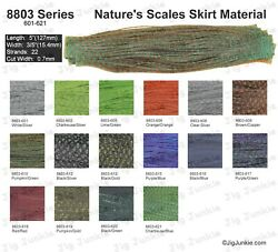 SILICONE SKIRT TABS MATERIAL 8803 Nature#x27;s Scales Series $17.03