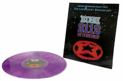 RUSH - 2112 IN CONCERT: LIMITED EDITION ON VIOLET VINYL