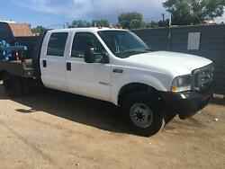 2003 Ford F-350 flat bed 2003 Ford Super Duty F-350 DRW flat bed 150000 Miles  Crew Cab Pickup Diesel 8 C