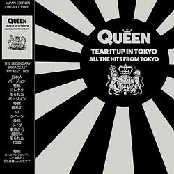 QUEEN - TEAR IT UP IN TOKYO-ALL THE HITS FROM TOKYO: JAPAN EDITION ON GREY VINYL
