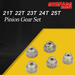 SURPASS HOBBY 48DP 3.175MM 21T 22T 23T 24T 25T Pinion Gear Set for 1 10 RC Motor $10.79