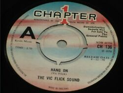 The Vic Flick Sound:   Hang On   1970  UK  EX  7