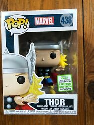 FUNKO POP MARVEL SERIES THOR 2019 ECCC SPING CONVENTION SHARED EXCLUSIVE