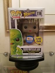 Funko Pop Universal Monsters GITD Creature From the Black Lagoon Gemini Excl...