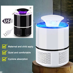 Bug Zapper Light Bulbs Supoort USB Mosquito Fly Killer LampLED Light Trap Lamp $11.11