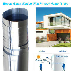 Home Tint Window Film One Way Mirror Privacy Reflective Heat UV Static Cling