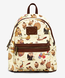 Brand New Disney Pixar X Loungefly Up Mini Backpack $101.96