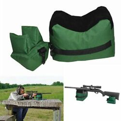 Large Shooting Range Sand Bag Set Rifle Gun Bench-Rest Stand Front