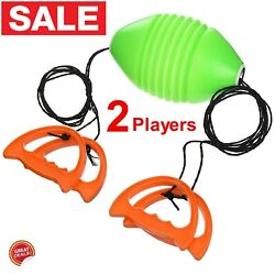 Fun Outdoor Games For Kids Boys Girls Family Patio Game Kit Ball Toss Zoom Zip 2