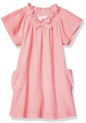 $38 Girls Tommy Bahama pink terry cloth beach cover up size 5 P135 O $24.10