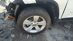 10-17 JEEP COMPASS SET OF 4 ALLOY WHEELS WITH TIRE 17X6-12 5 SPOKE OEM