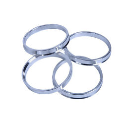 Wheel Hub Centric Rings Spacer (Set of 4) OD: 69.6mm ID: 66.9mm Aluminium Alloy