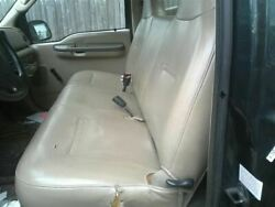 Front Seat Bench 1 Piece Vinyl Regular Cab Fits 99-07 FORD F250SD PICKUP 2204787