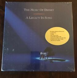 The Music of Disney: A Legacy in Song 3 CD Disc Box Set Brand New Sealed!