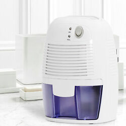 Mini Space Dehumidifier with Auto Shut Off Quietly Extracts Moisture $32.99
