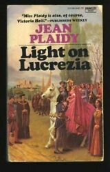 LIGHT ON LUCREZIA By Jean Plaidy **Mint Condition**